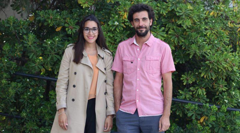 Os investigadores de la UGR Noelia Ruiz e Ángel Correa, autores do estudo / UGR
