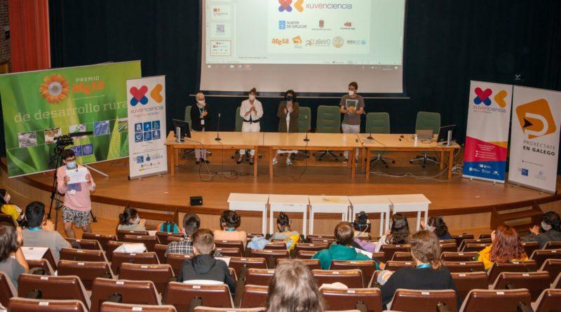 Os equipos dos proxectos P04 e P08 gañaron os premios Aresa Júnior e Proxéctate en Galego