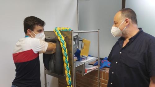 Visita ao Hospital Rof Codina e laboratorio de Habilidades Clínicas en Veterinaria.